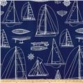 Richloom Solarium Outdoor Sailing Navy