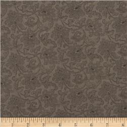 "Moda Atelier 108"" Quilt Back Brocade Charcoal"