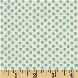 Bold & Beautiful Pin Dot Silver Mist