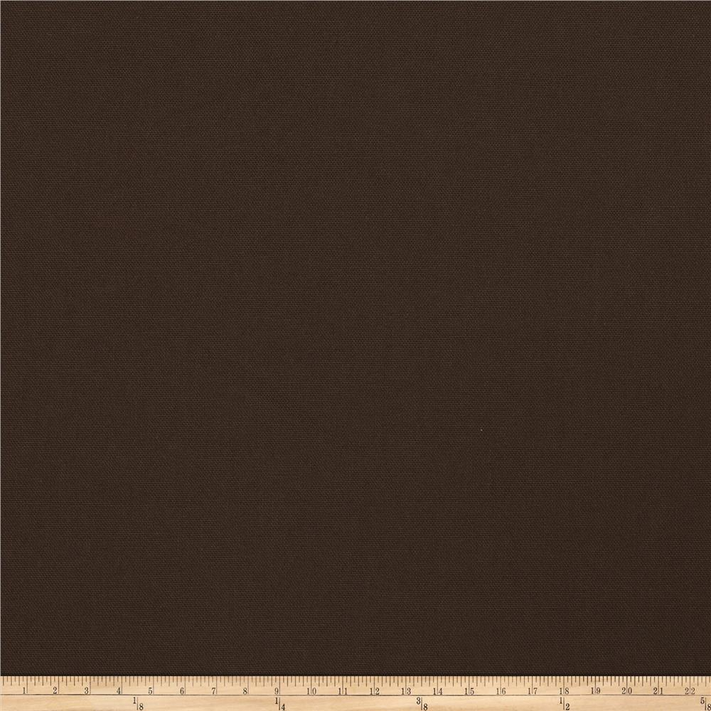 Fabricut Wrangler Canvas Dark Chocolate