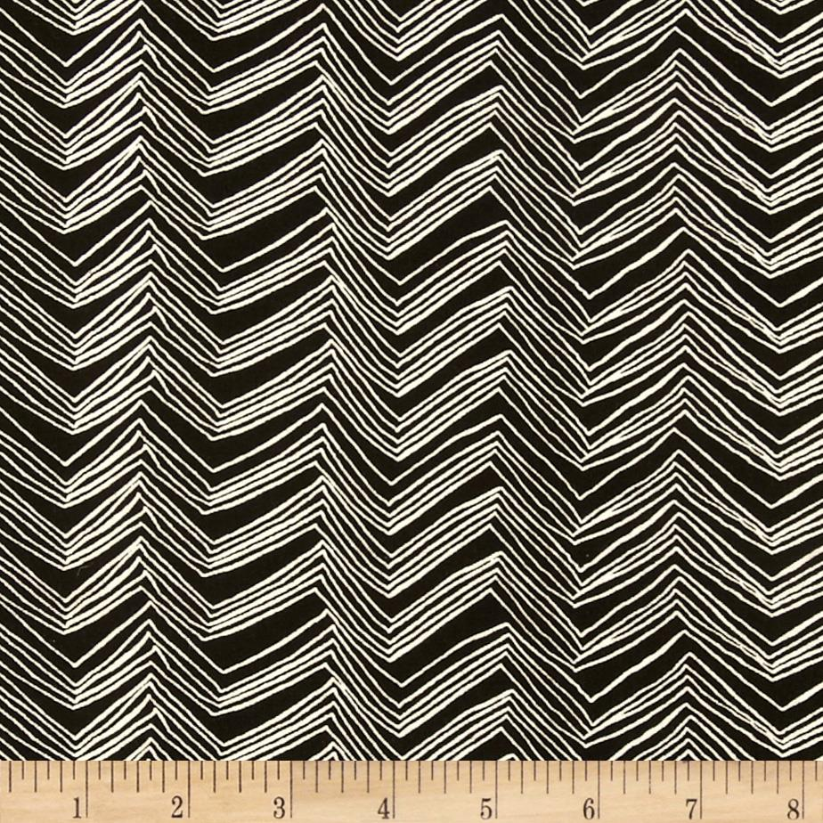 Chevron Zig Zag Black/White