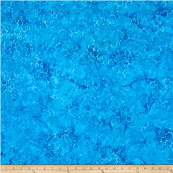 Island Batik Bubbles Blue
