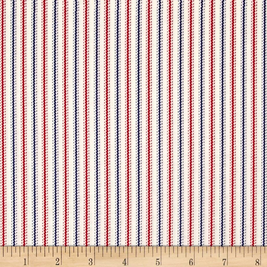 Mary Fons Small Wonders Americana Stripes Cream