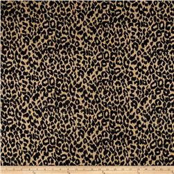 Brushed Hatchi Sweater Knit Cheetah Black/Tan