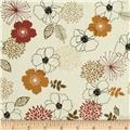 Birds and Blooms Full Bloom Sand/Multi