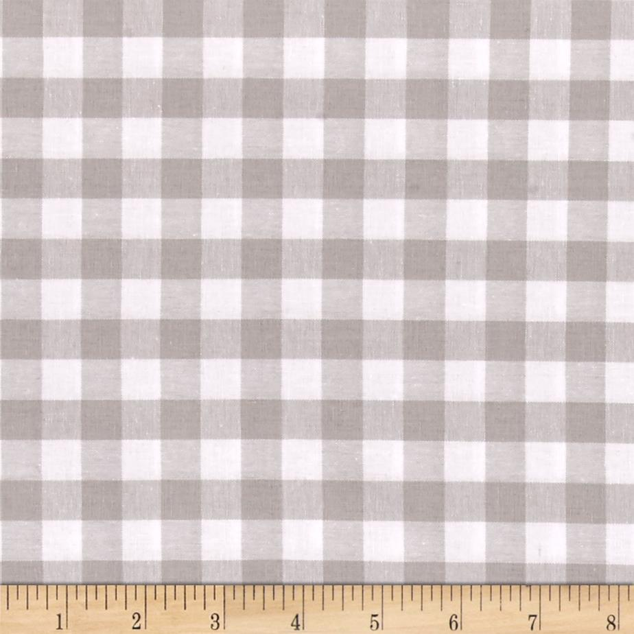 Cotton + Steel Checkers Yarn Dyed Woven 1/2'' Linen Fabric