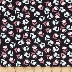 Theodore & Izzy Tulips Grey Fabric
