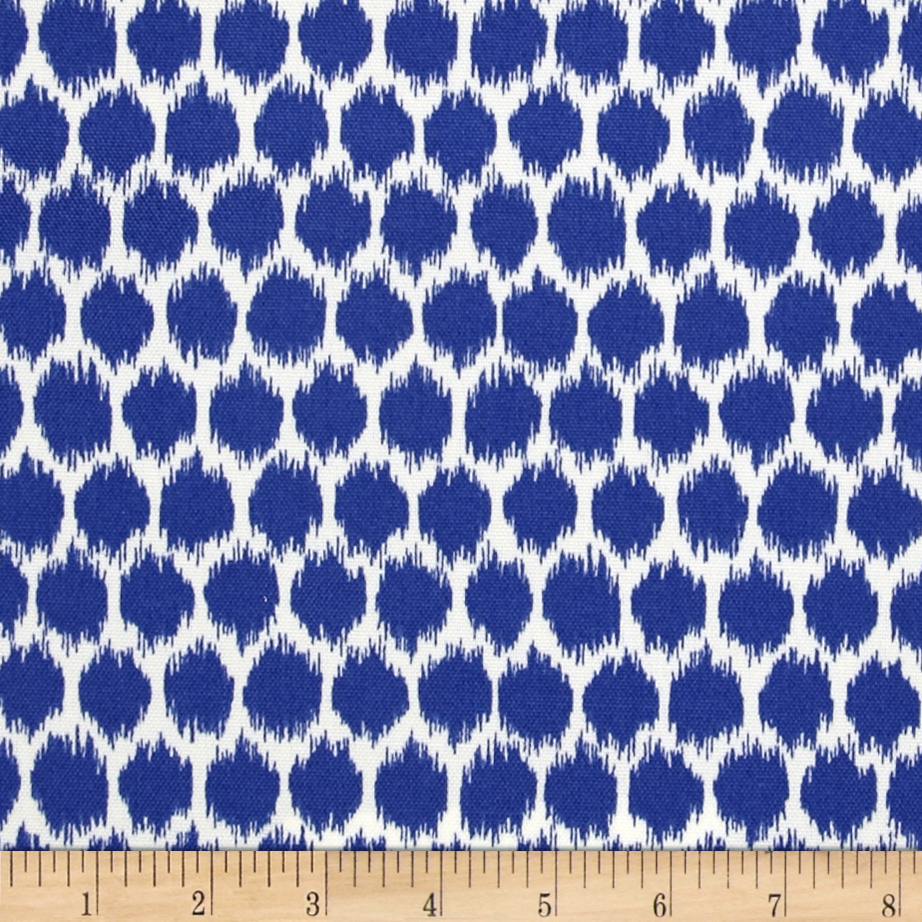 Waverly Sun N Shade Seeing Spots Navy Fabric
