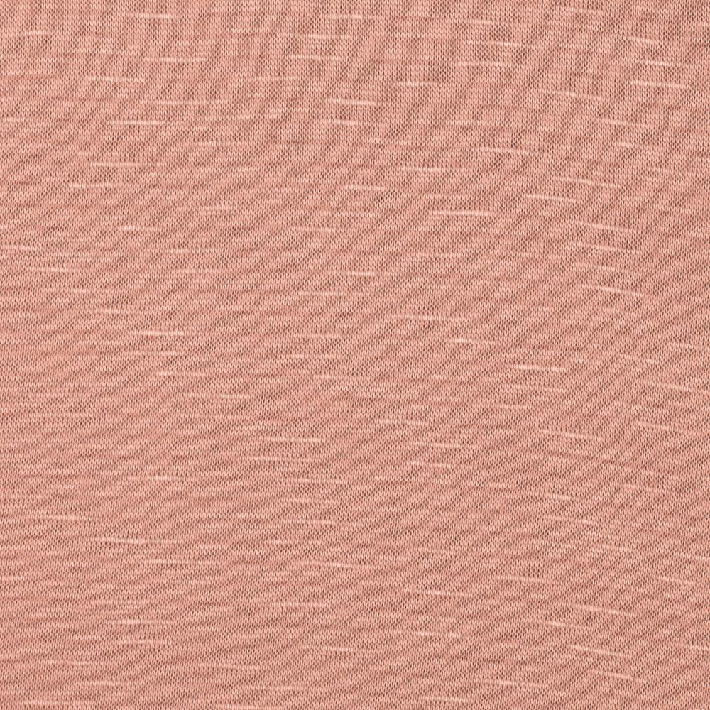 Stretch Rayon Slub Jersey Knit Pale Pink