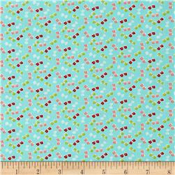 Moda Little Ruby Little Bows Aqua