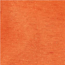 Sparkle Tulle Orange Fabric