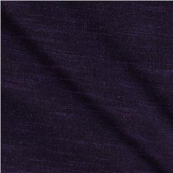 Stellar Textured Voile Dark Grape
