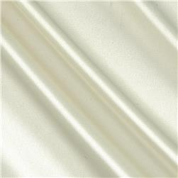 Stretch Charmeuse Satin Ghost White
