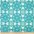 Riley Blake Home Décor Ornate Damask Aqua