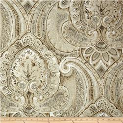 KasLen Janna Large Damask Sateen Sunglow