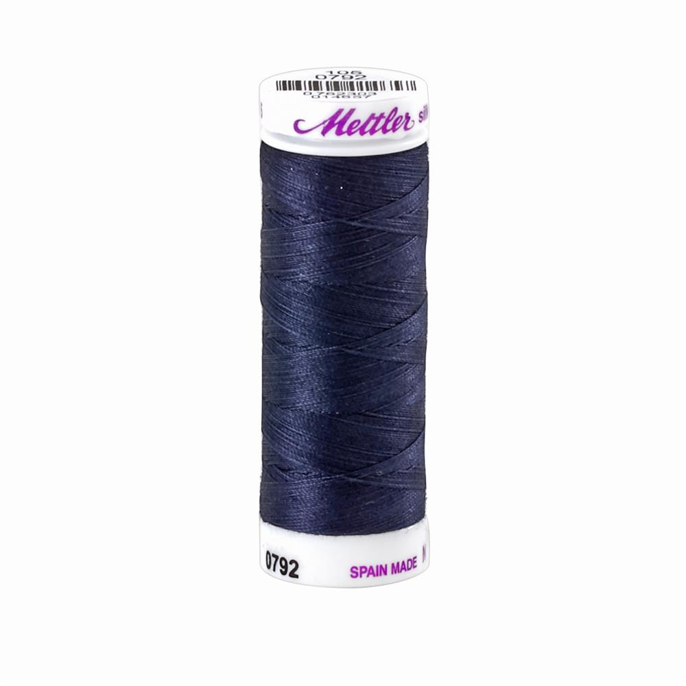 Mettler Cotton All Purpose Thread Dark Blue