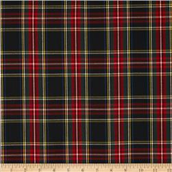House of Wales Plaid Black