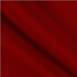 Cotton Pique Red