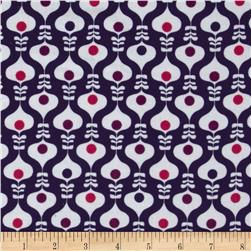 Kaufman 21 Wale Cool Cords Medallion Purple