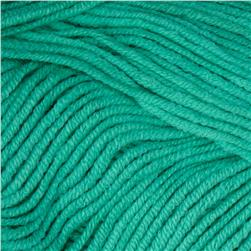 Bernat Vickie Howell Cotton-ish Yarn (85734) Turquoise Terry Cloth