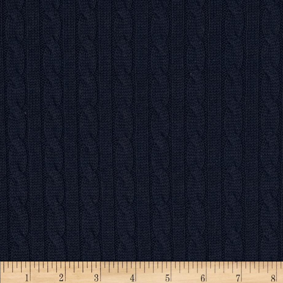 Nautica Beckery Cable Knit China Blue