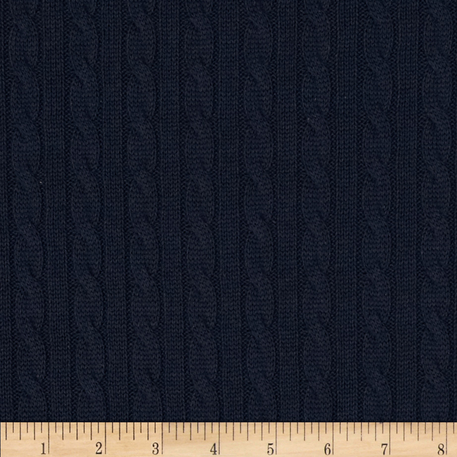 Nautica Beckery Cable Knit Natural Discount Designer