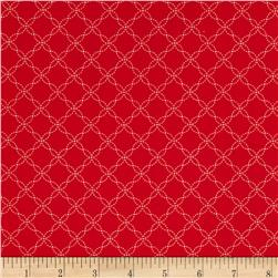 Kimberbell's Merry & Bright Lattice Red