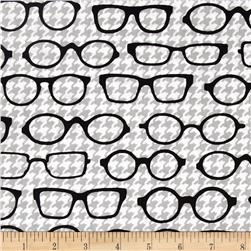 Fox and The Houndstooth Eyeglasses Grey