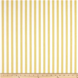 Premier Prints Basic Stripe Saffron Yellow