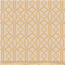 Isabelle De Borchgrave Egyptian Lattice Linen Blend Gold
