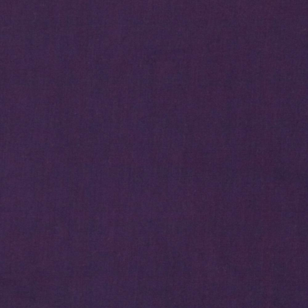 Cotton Voile Solid Eggplant
