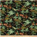 Fall's  Canvas Potpourri Green