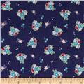 Riley Blake Country Girl Flannel Country Floral Navy