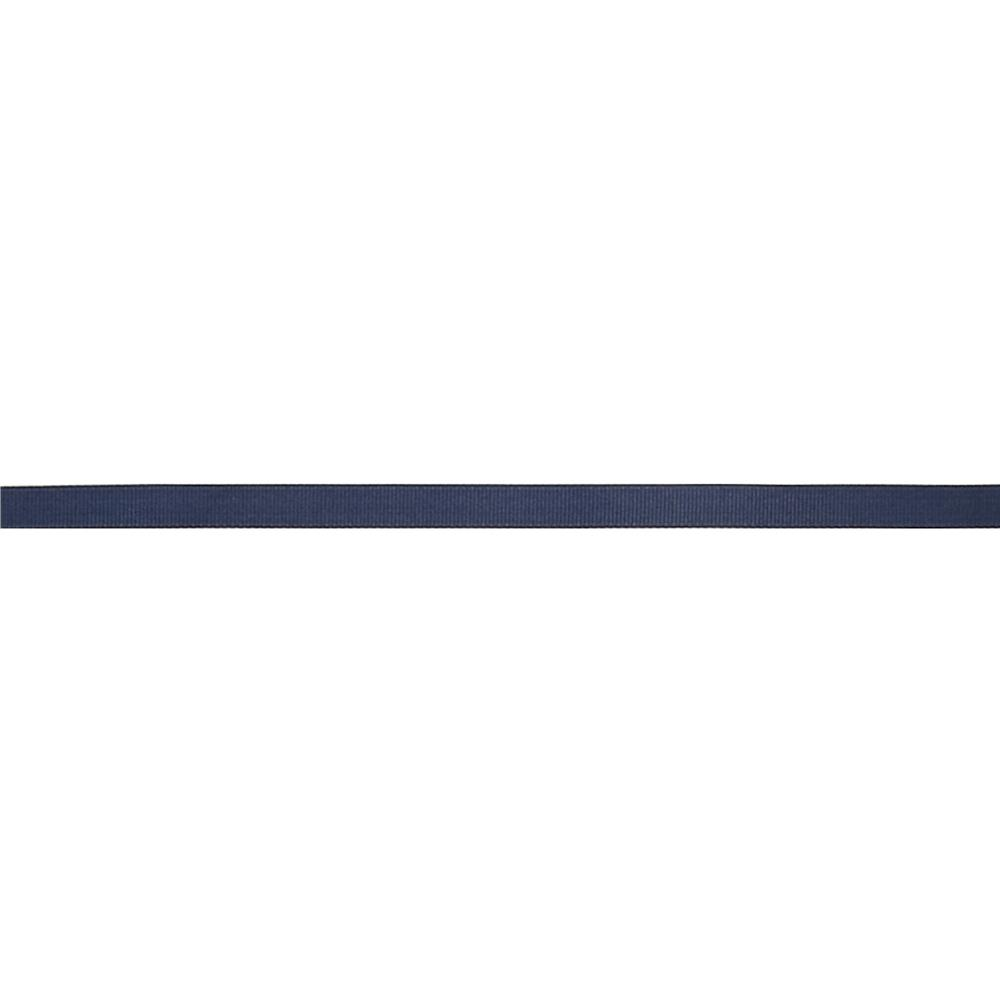 "May Arts 3/8"" Grosgrain Ribbon Spool Navy"