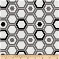 Design Studio Hexagon Gray