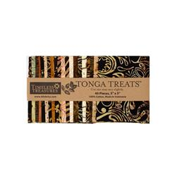 "Timeless Treasurers Tonga Batik Madrid 5"" Square"