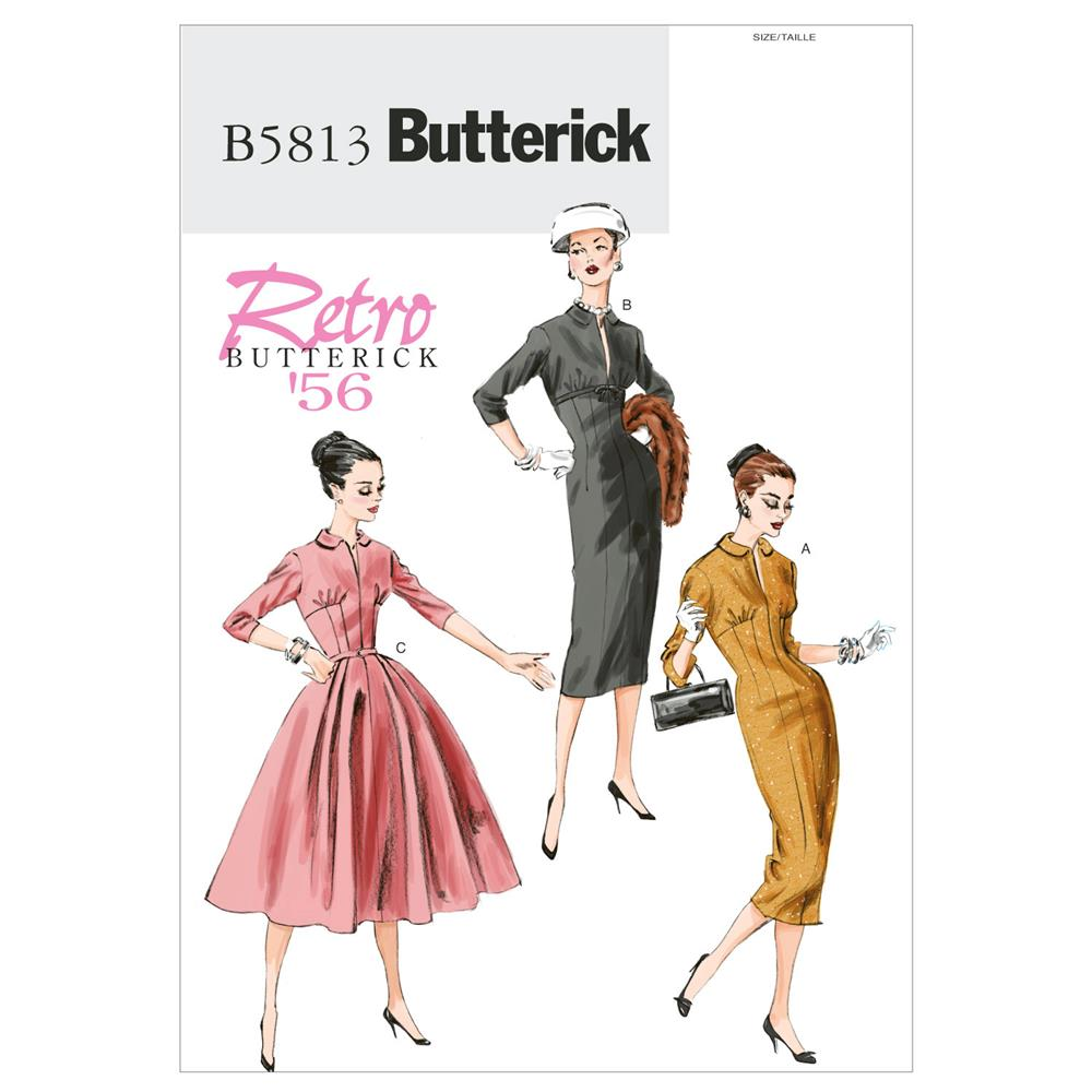 Butterick Misses' Dress Pattern B5813 Size A50