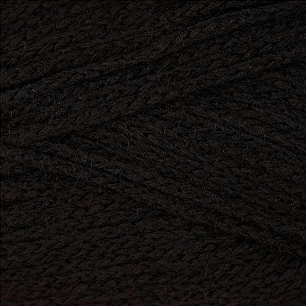 Lion Brand Modern Baby Yarn Black