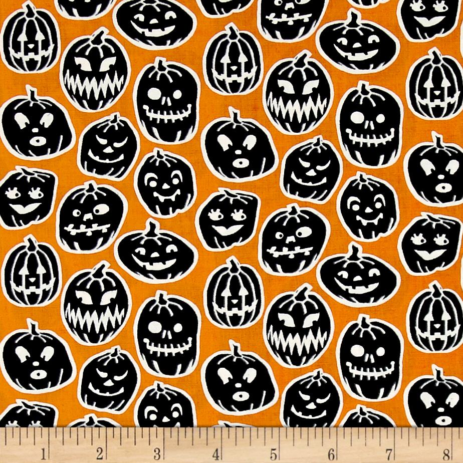Ready Set Glow In The Dark Pumpkins Orange