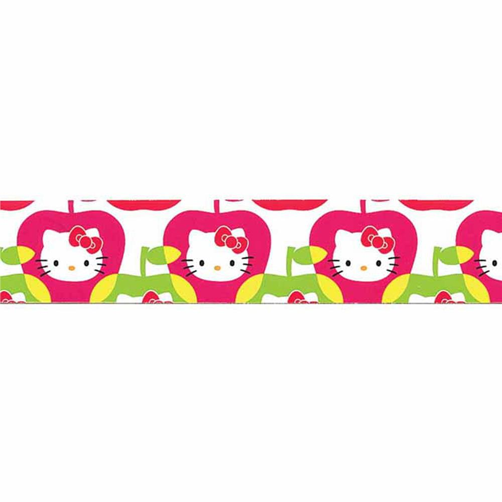 7/8'' Hello Kitty Apple Ribbon Pink