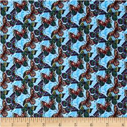Bella Butterflies Blue/Green