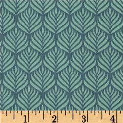 Passport Jaipur Feather Stripe Green