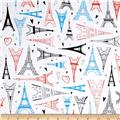 Kaufman Paris Adventure Eiffel Towers Multi