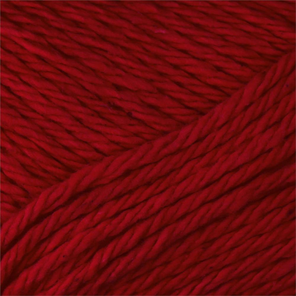 Peaches & Creme Solid Yarn (1095) Red