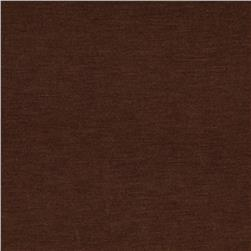 Stretch Rayon Jersey Knit Sienna Brown
