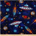 Fleece Outer Space Navy
