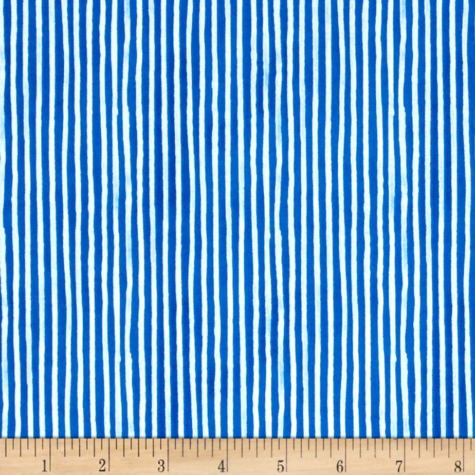 Hot Dogs & Cool Cats Organic Stripe Blue