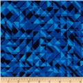 108 In. Quilt Wide Back Prisms Blue