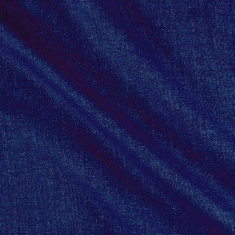 Telio Washed Linen Dark Indigo Blue