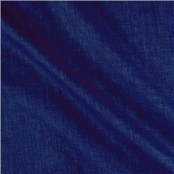 Washed Linen Dark Indigo Blue